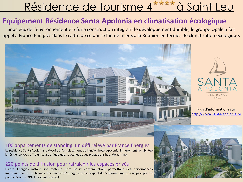 Résidence de tourisme 4 étoiles St Leu