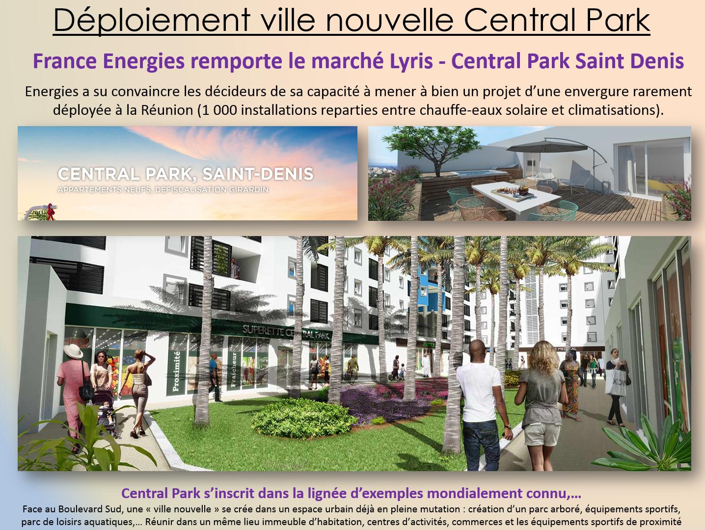Nouvelle ville Central Park - Saint Denis de la Réunion
